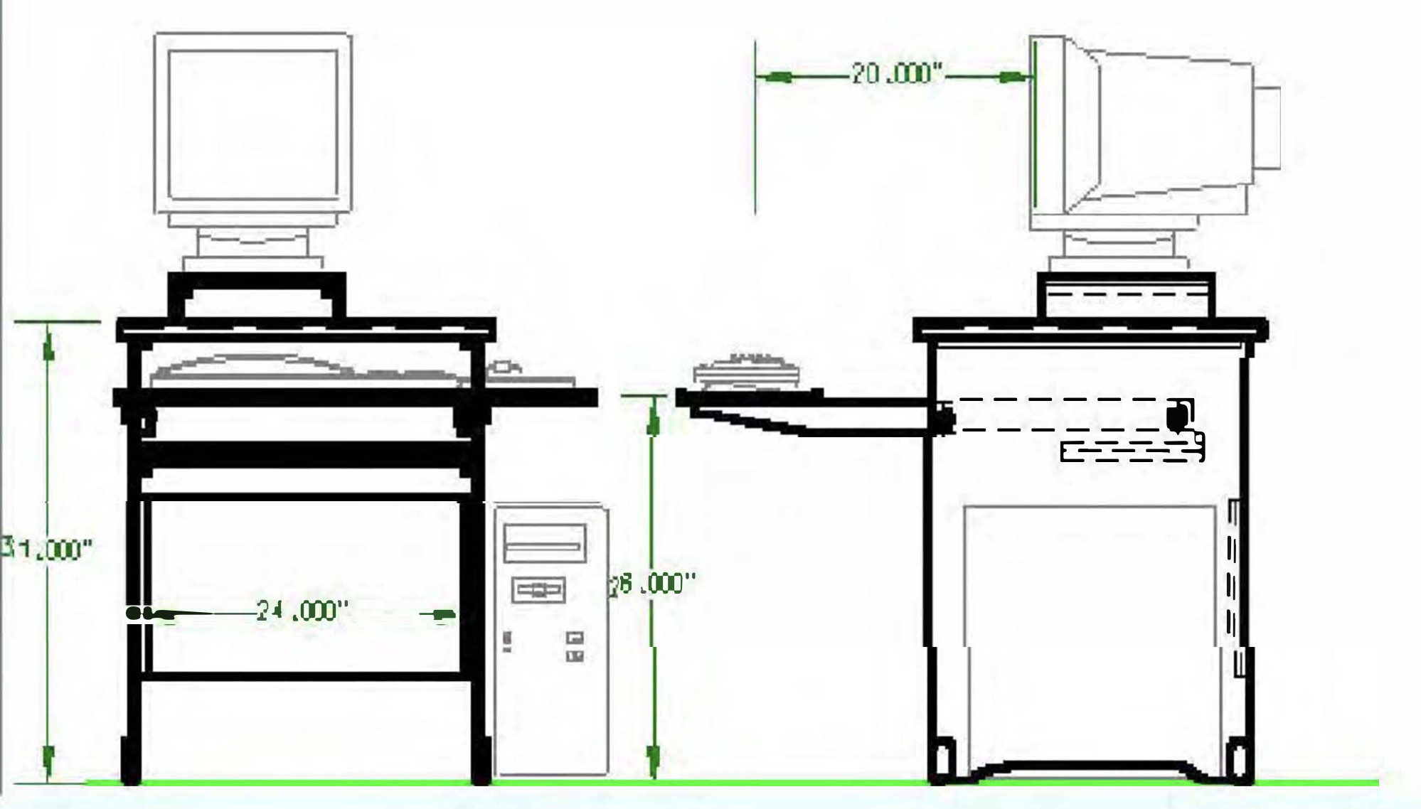 DIY Anleitung: Computertisch in 6 Schritten selber bauen